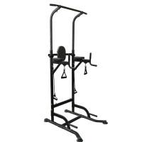 Силовая стойка для подтягиваний с эспандерами Royal Fitness