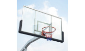 Баскетбольная мобильная стойка Dfc Stand72g 180x105cm стекло (семь коробов)