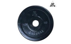 Диск обрезиненный DFC, чёрный 26мм, 1,25 кг.
