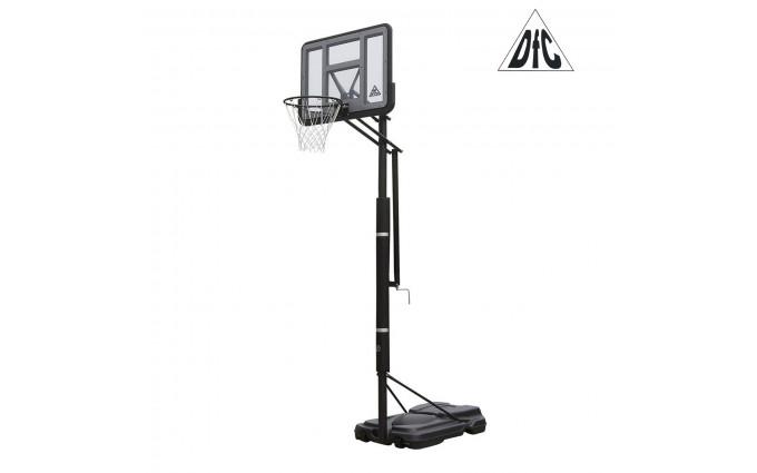 Баскетбольная мобильная стойка Dfc Stand44pvc1 110x75cm Пвх винт.регулировка