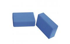 Блок для йоги синий FITEX PRO